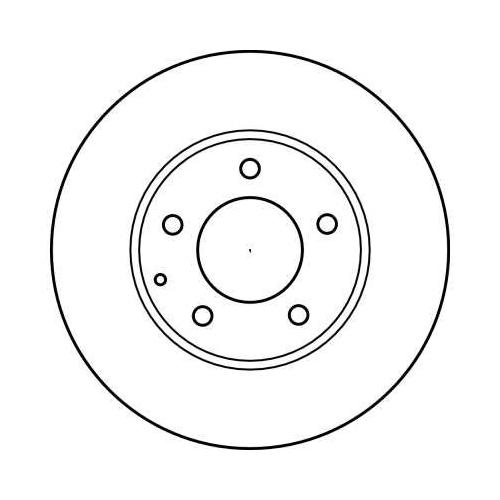 TRW Brake Disc DF4012
