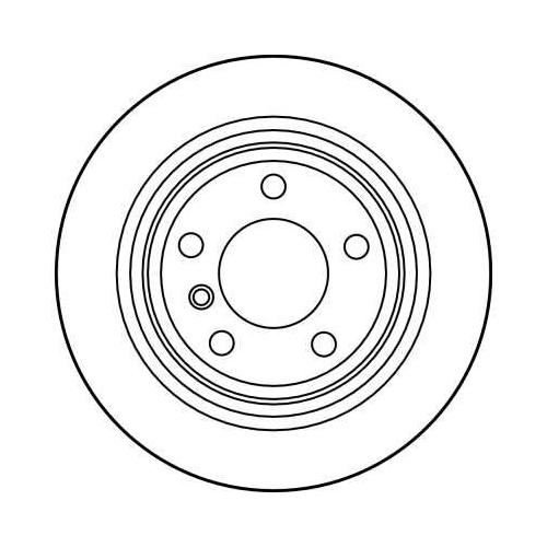 TRW Brake Disc DF2768