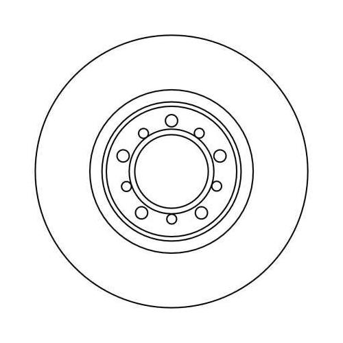 TRW Brake Disc DF1586