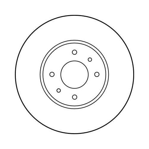 TRW Brake Disc DF1032