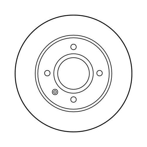Brake Disc TRW DF1658 FORD