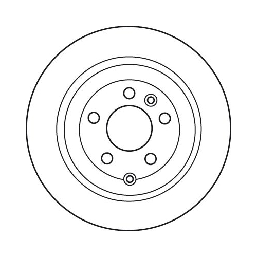 Brake Disc TRW DF6129 LAND ROVER