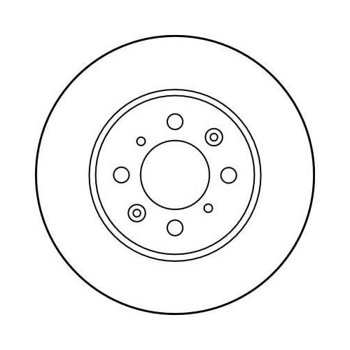 Brake Disc TRW DF2792 MG ROVER