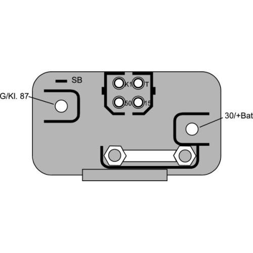 Control Unit, glow plug system HELLA 4RV 008 188-331 VOLVO