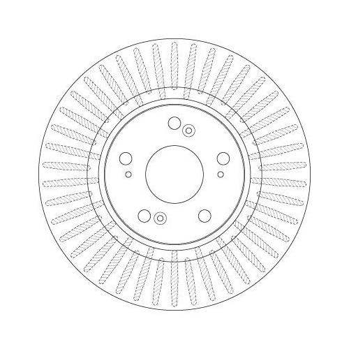 TRW Brake Disc DF6432S