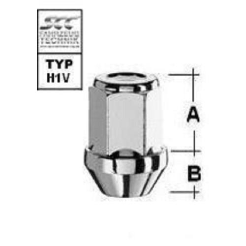 SCC Fahrzeugtechnik WHEEL BOLT M12X1.25. Articel nr.: M1225KEGN