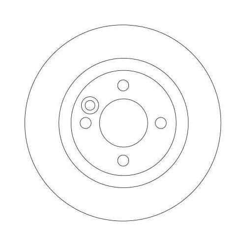 Brake Disc TRW DF4198 MINI
