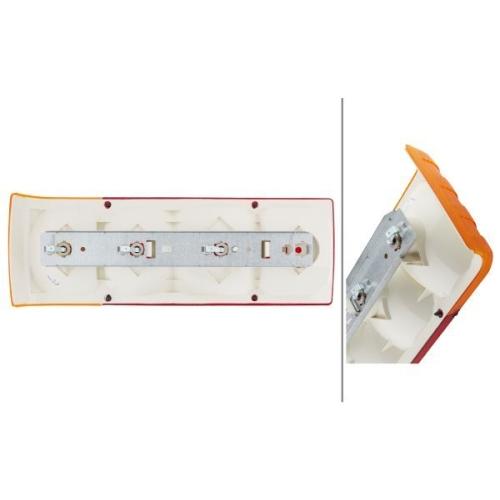 Combination Rearlight HELLA 2SD 004 460-011 FENDT HOBBYCAR HYMER