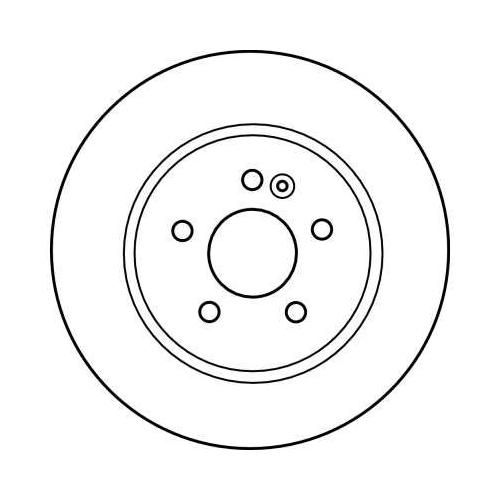 TRW Brake Disc DF4150