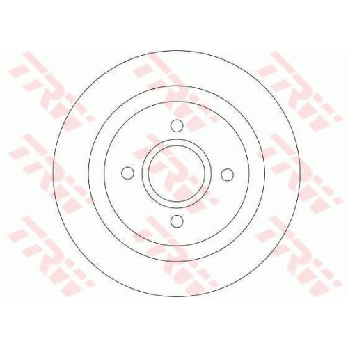 TRW Brake Disc DF4251