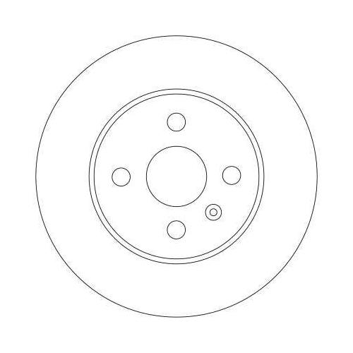 TRW Brake Disc DF4344