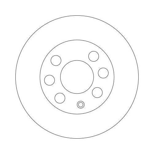 Brake Disc TRW DF4439 CHEVROLET DAEWOO