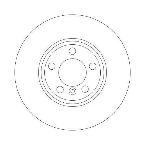 Brake Disc TRW DF4361 BMW