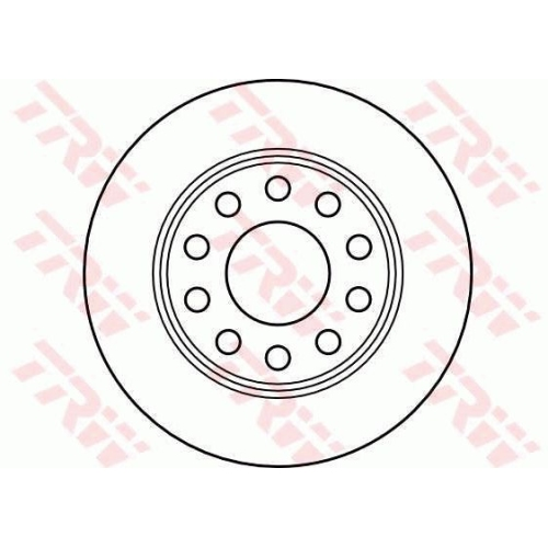 TRW Brake Disc DF4211
