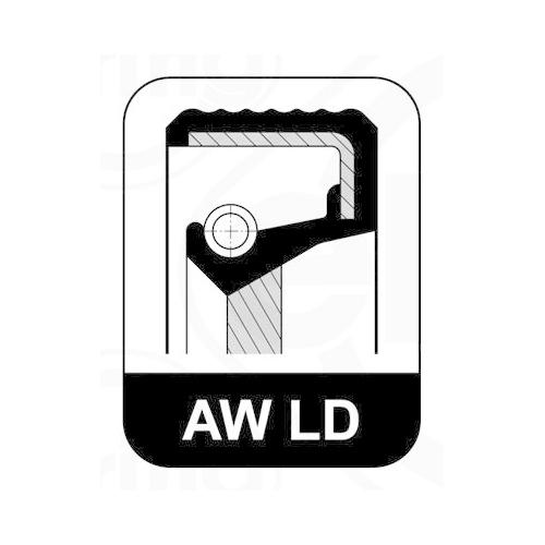 Seal Ring ELRING 326.798 AUDI PORSCHE SEAT SKODA VW CHERY