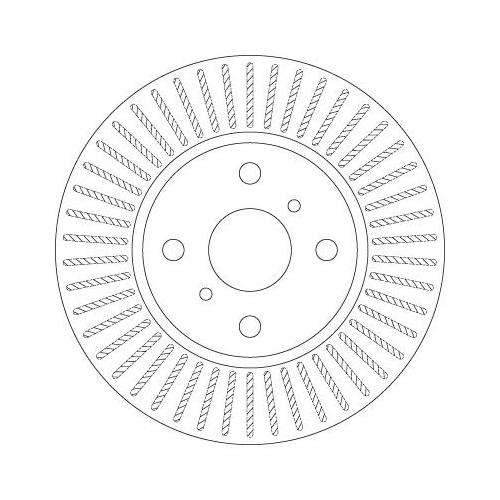 TRW Brake Disc DF6225