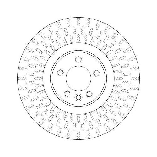 TRW Brake Disc DF6508S