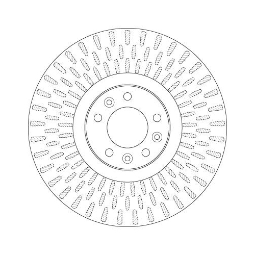 TRW Brake Disc DF6427S