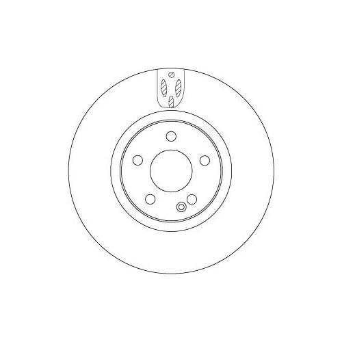 TRW Brake Disc DF6744S