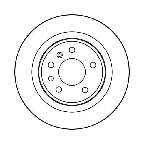 TRW Brake Disc DF2714