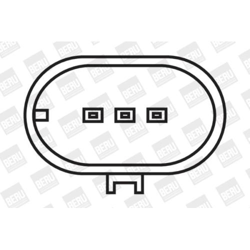 Zündspule BorgWarner (BERU) ZS068 LAND ROVER