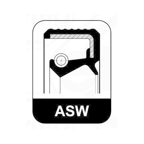 Seal Ring ELRING 349.844 AUDI SEAT SKODA VW