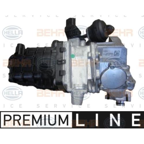 Cooler, exhaust gas recirculation HELLA 8ME 376 745-271 CITROËN FORD PEUGEOT