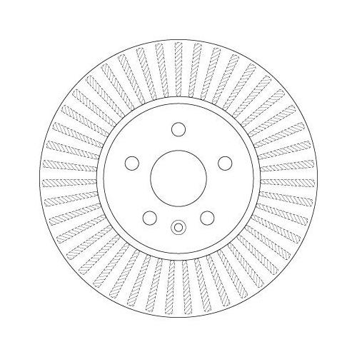 TRW Brake Disc DF6629