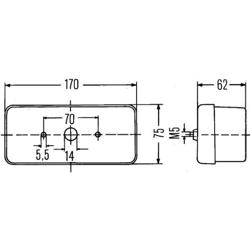 Indicator HELLA 2BE 002 582-031 DAF FIAT FORD INTERNATIONAL HARV. SCANIA VOLVO