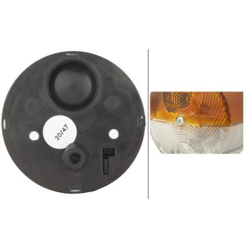 Indicator HELLA 2BE 003 185-031 DAF STEYR BOMAG CASE IH HOLDER O & K JOHN DEERE