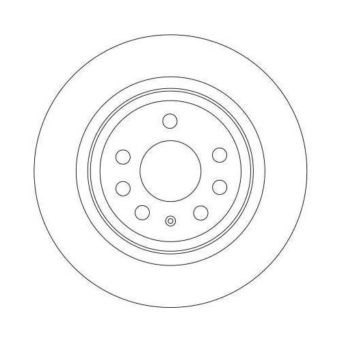 TRW Brake Disc DF4284