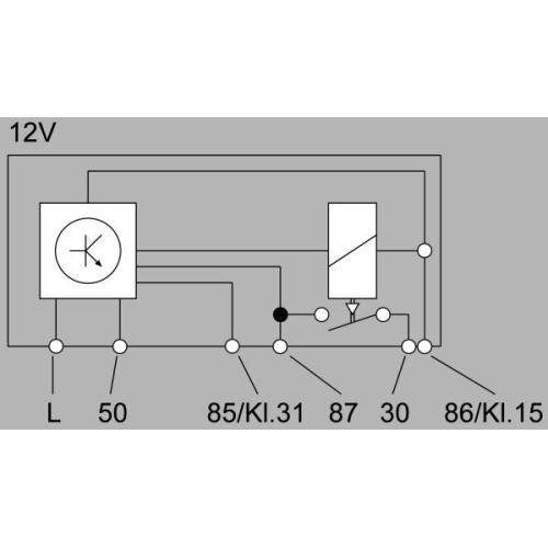 Control Unit, glow plug system HELLA 4RV 008 188-191 AUDI MACK VW