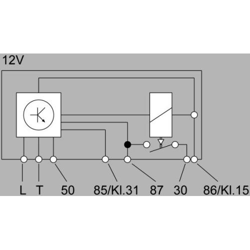 Control Unit, glow plug system HELLA 4RV 008 188-181 AUDI MACK SEAT VW