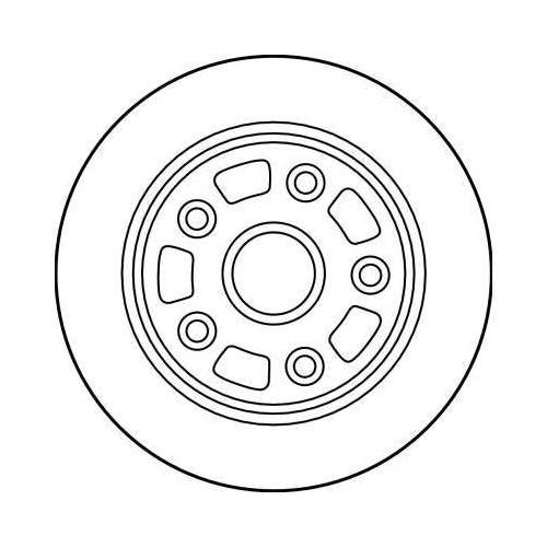 TRW Brake Disc DF4003