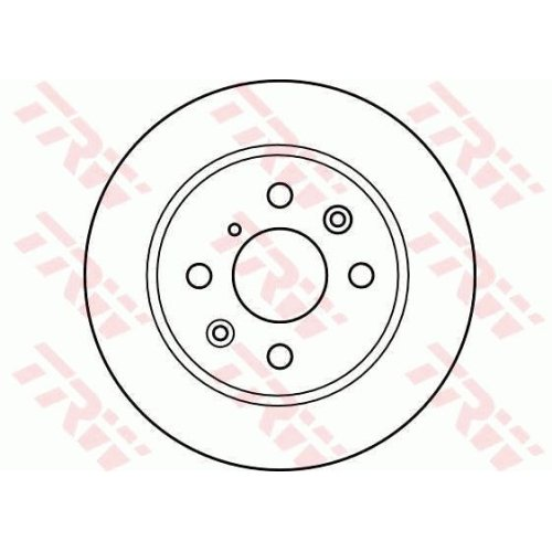 Brake Disc TRW DF4020 KIA