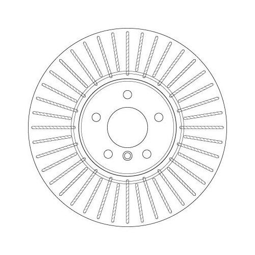 TRW Brake Disc DF6408S