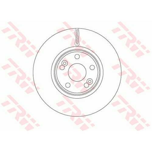 Brake Disc TRW DF6233S RENAULT