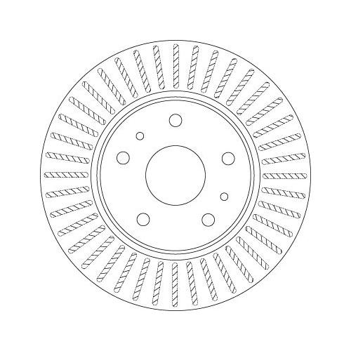 Brake Disc TRW DF6684 SUZUKI