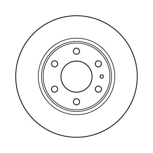 Brake Disc TRW DF4988S IVECO
