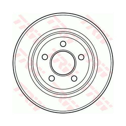 TRW Brake Disc DF4882