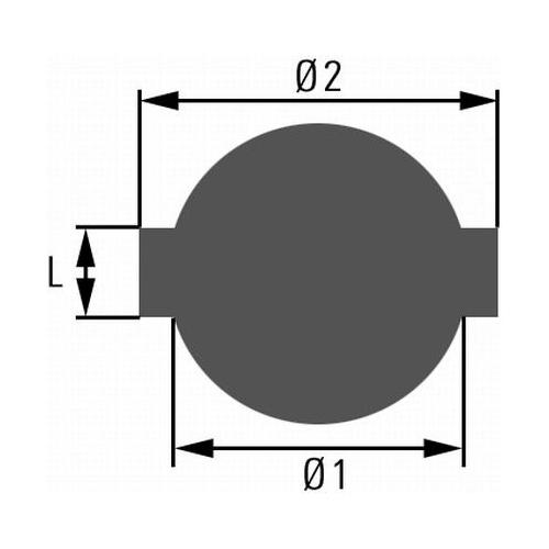 Sealing Cap, fuel tank HELLA 8XY 006 587-001