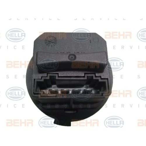 Regulator, passenger compartment fan HELLA 5HL 351 321-321 BMW CITROËN PEUGEOT