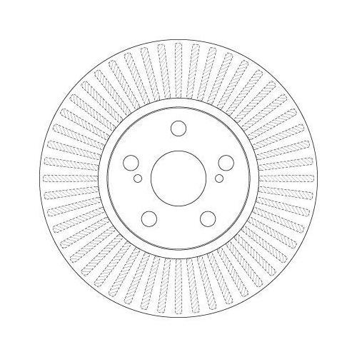 Brake Disc TRW DF6234 SUBARU TOYOTA