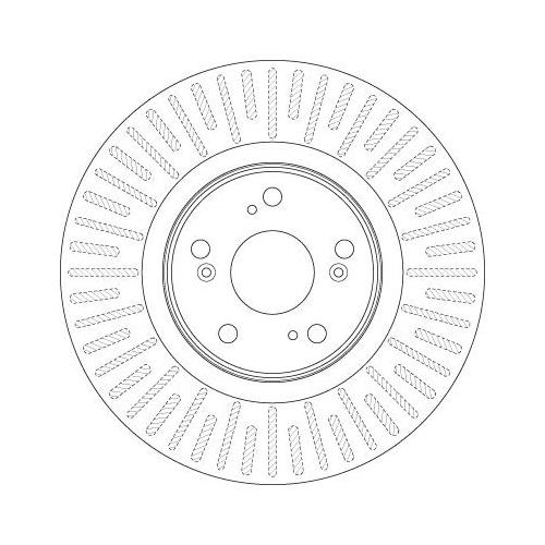 Brake Disc TRW DF6437 HONDA