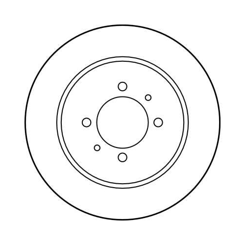 TRW Brake Disc DF4000