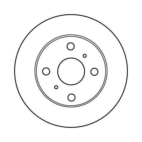 TRW Brake Disc DF4113