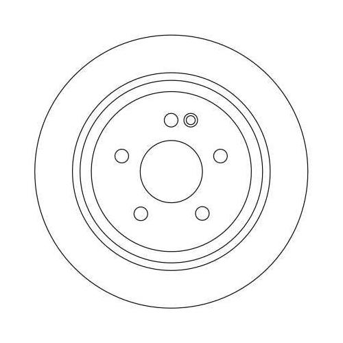 TRW Brake Disc DF4356