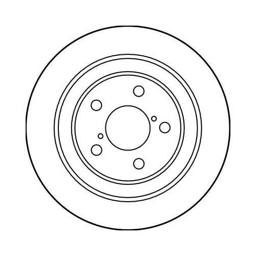 TRW Bremsscheibe DF3092