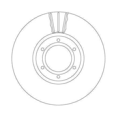 Brake Disc TRW DF4111 OPEL RENAULT VAUXHALL