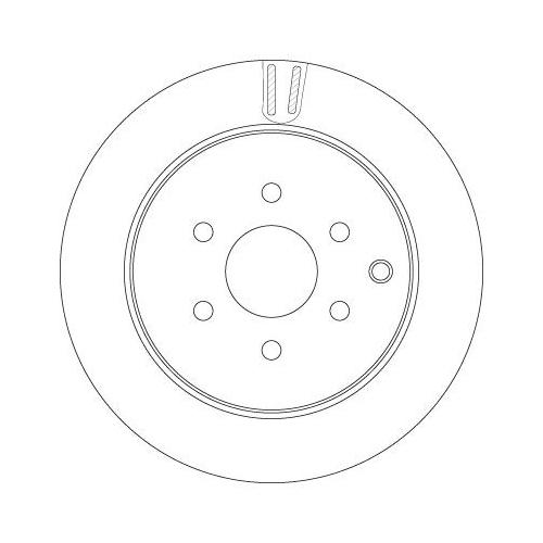 TRW Brake Disc DF6289